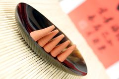 Cone incense Stock Image