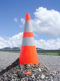 Cone on Maui Road Stock Images