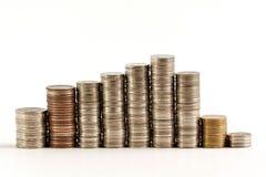 Cone money isolate on white Royalty Free Stock Image