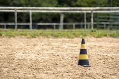 Cone on sand Royalty Free Stock Photos