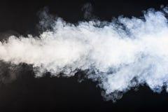 Cone of smoke Stock Photo