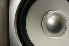 Cone speaker royalty free stock image