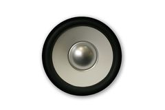Cone speaker 3 stock photography