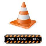 Cone. Traffic cone icon- creative design elements Stock Image