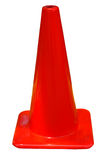 Cone vermelho - isolado imagem de stock