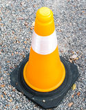 Cone of warning Royalty Free Stock Images