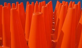 Cone Zone Pattern Stock Photography