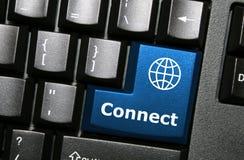 Conecte el clave foto de archivo
