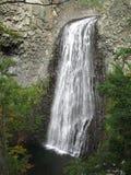 Conecte en cascada du Ray Pic (Ardeche) - cascada Foto de archivo