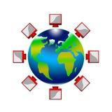 Conecte la tierra del planeta libre illustration