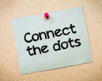 Conecte los puntos Imagen de archivo
