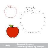 Conecte los puntos y encuentre la imagen ocultada Fotografía de archivo