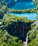 Parque nacional dos lagos Plitvice (Croatia) imagem de stock royalty free