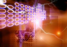 Conecting Netz Lizenzfreies Stockfoto
