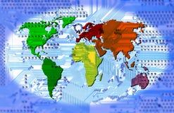 Conectividad - mundo de ordenador libre illustration