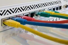 Conectividade do Internet Imagens de Stock