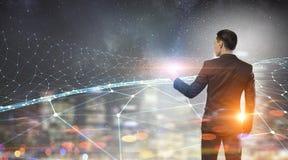 Conectividade e comunicação como chaves ao sucesso Fotografia de Stock Royalty Free