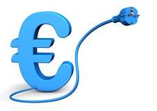 Conector euro Imágenes de archivo libres de regalías