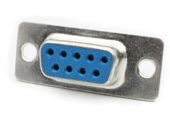 Conector DB9 Imagen de archivo
