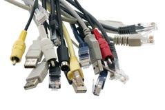 Conector de cabo Imagens de Stock Royalty Free