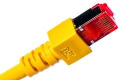 Conector de Ethernet Imagenes de archivo