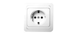Conector de plugue elétrico Imagens de Stock