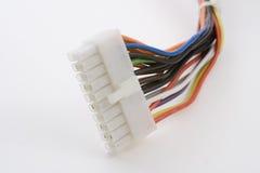 Conector de potência do PC Foto de Stock