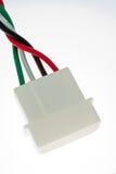 Conector de potencia de Molex fotografía de archivo libre de regalías