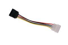 Conector de Sata Imagem de Stock Royalty Free