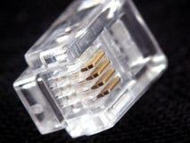 Conector de telefone Fotografia de Stock Royalty Free