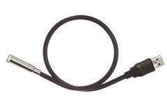 Conector de USB com diodo emissor de luz Imagens de Stock