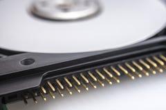 Conector del disco duro Fotos de archivo
