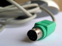Conector del ratón Imagen de archivo
