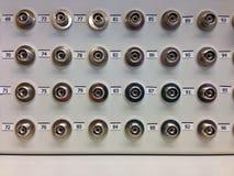 Conector do fc do painel de remendo da distribuição da fibra ótica Imagem de Stock Royalty Free