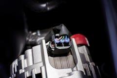 Conector do fio do soquete bonde ao alternador do carro Foto de Stock Royalty Free