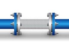 Conector flexible libre illustration