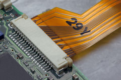 Conector liso imagem de stock