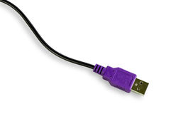 Conector USB Fotografía de archivo libre de regalías