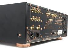 Conectores altas tecnologia do receptor do avoirdupois imagem de stock royalty free
