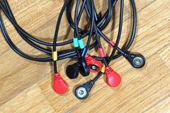 Conectores de cable Fotos de archivo