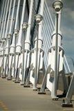 Conectores de cabo da ponte fotos de stock