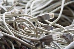 Conectores de la red fotografía de archivo libre de regalías