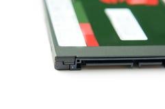 Conectores del SSD Fotografía de archivo