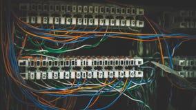Conectores do sistema telefônico imagens de stock royalty free