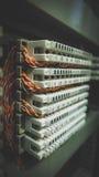 Conectores do sistema telefônico imagem de stock royalty free