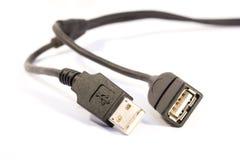 Conectores do Usb Foto de Stock