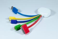 Conectores e soquetes para o PC foto de stock royalty free