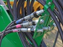 Conectores hidráulicos Fotos de Stock Royalty Free