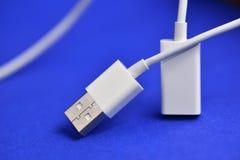 Conectores USB Foto de archivo libre de regalías