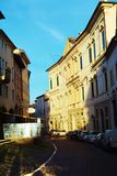 Conegliano city, streets and historical buildings Royalty Free Stock Images